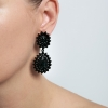 Náušnice Wonderful Black Pearl